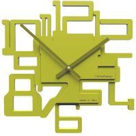 Designové hodiny 10-003 CalleaDesign Kron 32cm (více barevných verzí) Barva antracitová černá - 4