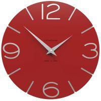 Designové hodiny 10-005 CalleaDesign 30cm (více barev) Barva světle červená - 64