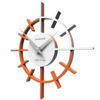 Designové hodiny 10-018 CalleaDesign Crosshair 29cm (více barevných verzí) Barva antracitová černá - 4