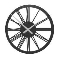 Designové hodiny 10-114 CalleaDesign 45cm (více barev) Barva antracitová černá - 4