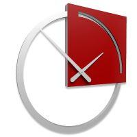 Designové hodiny 10-124 CalleaDesign Karl 45cm (více barevných verzí) Barva grafitová (tmavě šedá)-3 - RAL9007
