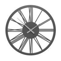 Designové hodiny 10-207 CalleaDesign 60cm (více barev) Barva grafitová (tmavě šedá) - 3