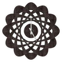 Designové nástěnné hodiny 1471 wenge Calleadesign 44cm