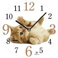 Designové nástěnné hodiny 14843 Lowell 34cm