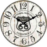 Designové nástěnné hodiny 14848 Lowell 34cm