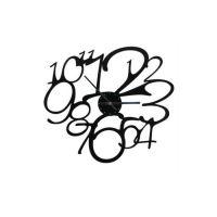 Designové nástěnné hodiny 1500 Calleadesign 30cm  Barva tmavě hnědá