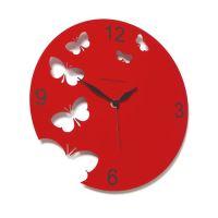 Designové hodiny D&D 201 Meridiana 30cm (více barevných verzí) Meridiana barvy kov stříbrný lak