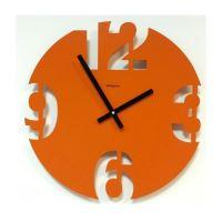 Designové hodiny D&D 299 Meridiana 40cm Meridiana barvy kov oranžový lak