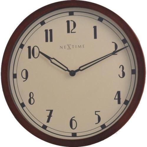 Designové nástěnné hodiny 3055 Nextime Royal 34cm