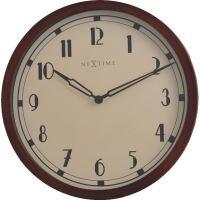 Designové nástěnné hodiny 3056 Nextime Royal 44cm