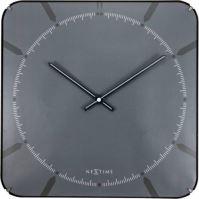 Designové nástěnné hodiny 3173 Nextime Michael Dome Grey 35cm