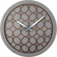 Designové nástěnné hodiny 3212br Nextime Concrete Love 39cm
