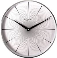 Designové nástěnné hodiny 3511wi Nextime 2 Seconds 40cm