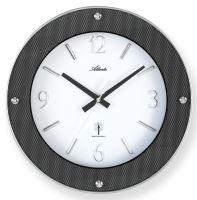 Designové nástěnné hodiny AT4390 řízené signálem DCF