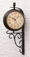 Nástěnné hodiny s venkovním teploměrem 5961 AMS řízené rádiovým signálem 38cm