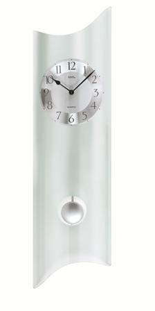 Kyvadlové nástěnné hodiny 7324 AMS 68cm