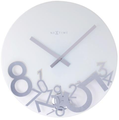 Designové nástěnné hodiny 8115 Nextime DROPPED 43cm