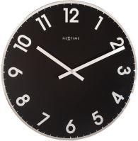 Designové nástěnné hodiny 8190zw Nextime Reflect 43cm