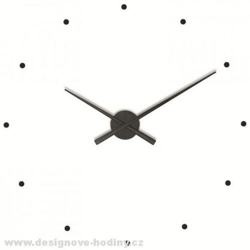 Designové nástěnné hodiny NOMON OJ černé 80cm