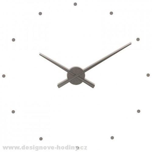 Designové nástěnné hodiny NOMON OJ grafitové 80cm