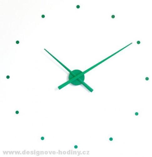 Designové nástěnné hodiny NOMON OJ zelené 80cm
