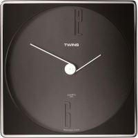 Nástěnné hodiny Twins 06 black 30cm