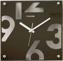 Nástěnné hodinyTwins 5080 brown 30cm