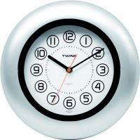Nástěnné hodiny Twins 7181 black 27cm