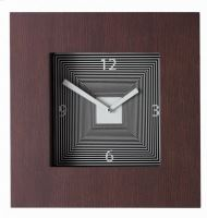 Designové hodiny Diamantini & Domeniconi Target wenge 42cm