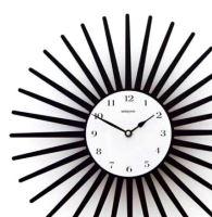 Designové hodiny D&D 369 Meridiana 36cm Meridiana barvy kov červený lak