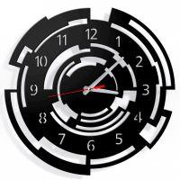 Designové nástěnné hodiny Callisto 40cm (více barev) Barva červená