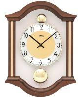 Kyvadlové nástěnné hodiny 7447/1 AMS 34cm