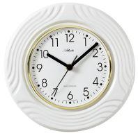 Designové nástěnné keramické hodiny AT6020 řízené signálem DCF