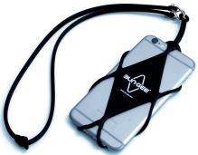 Bezpečnostní šňůra na mobilní telefon Bun-Gee black