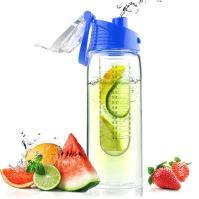 ASOBU designová fresh láhev s infuserem Flavour It modrá 600ml