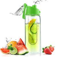 ASOBU designová fresh láhev s infuserem Flavour It limeta 600ml