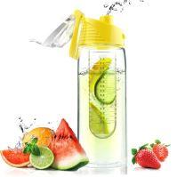 ASOBU designová fresh láhev s infuserem Flavour It žlutá 600ml