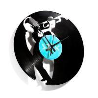 Designové nástěnné hodiny Discoclock 035 Jazz 30cm
