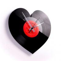 Designové nástěnné hodiny Discoclock 044 Heart 30cm