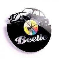 Designové nástěnné hodiny Discoclock 046 Beetle 30cm