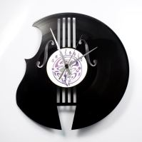 Designové nástěnné hodiny Discoclock 070 Basa 30cm