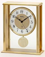 Stolní kyvadlové hodiny 5191 AMS řízené rádiových signálem 25cm