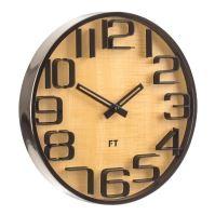 Designové nástěnné hodiny Future Time FT7010TT Numbers 30cm