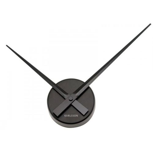 Designové nástěnné hodiny 4348BK Karlsson 38cm