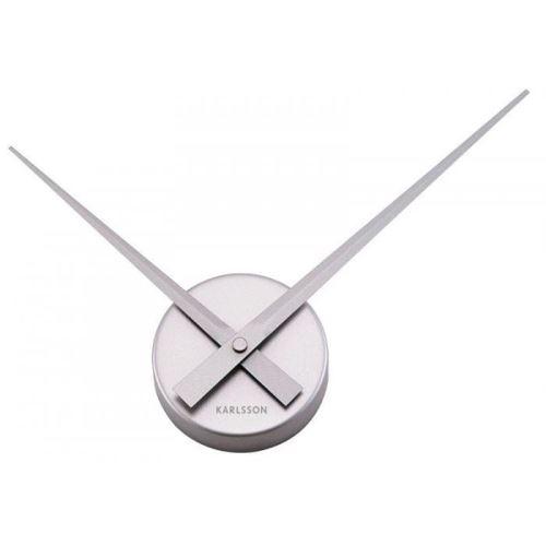 Designové nástěnné hodiny 4348SI Karlsson 38cm