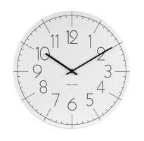 Designové nástěnné hodiny KA5592WH Karlsson 40cm