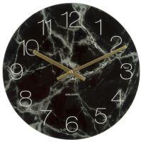 Designové nástěnné hodiny 5618BK Karlsson 40cm