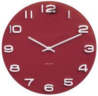 Designové nástěnné hodiny 5640RD Karlsson 35cm