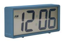 Digitální stolní i nástěnné hodiny/budík 5646BL Karlsson 18cm