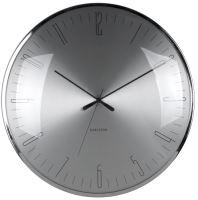 Designové nástěnné hodiny 5662 Karlsson 40cm (nerez)